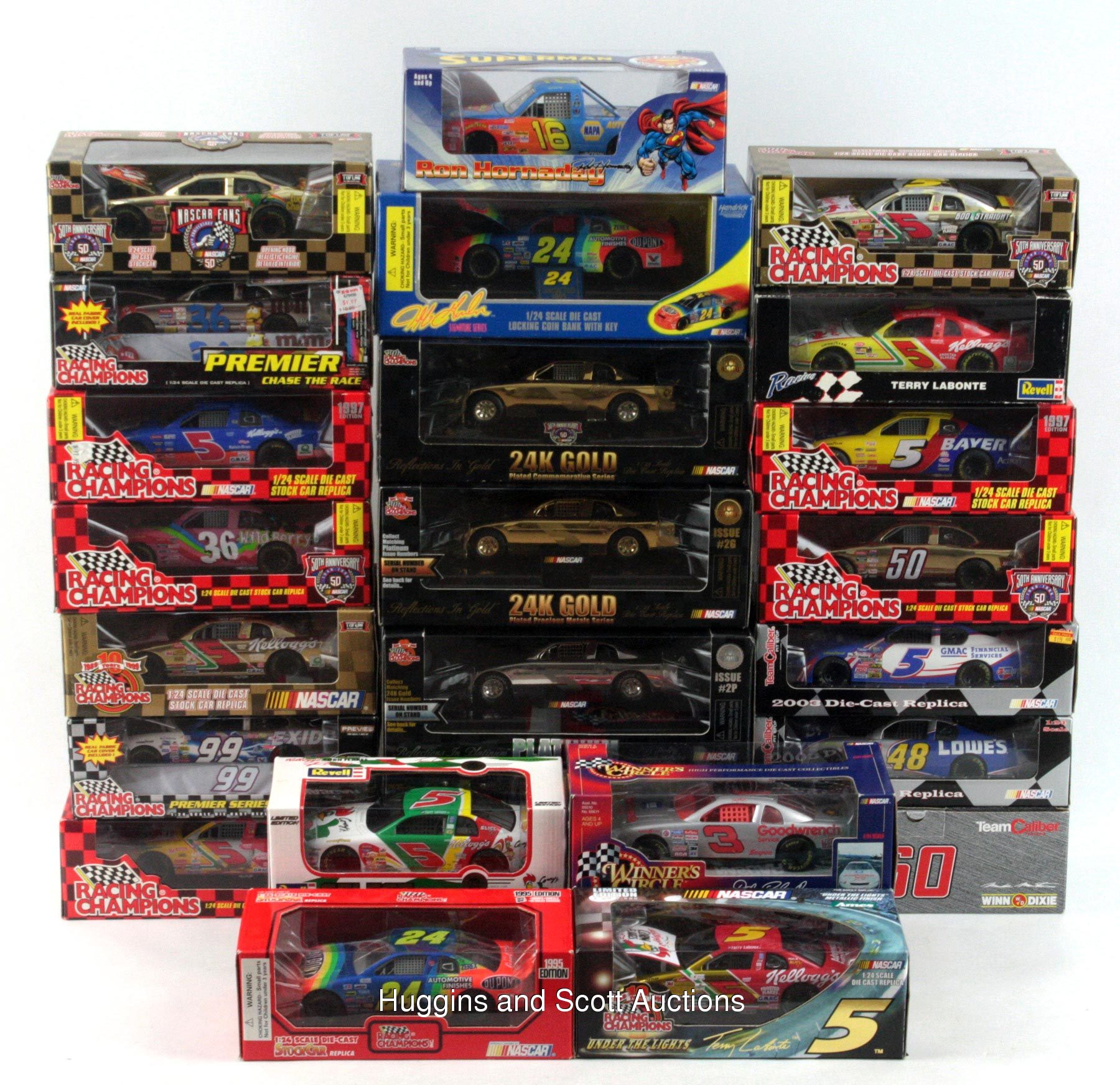 nascar toy model die cast car collection of 133